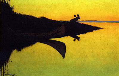 Remington Frederic Comming To The Call Art Print by Frederic Remington