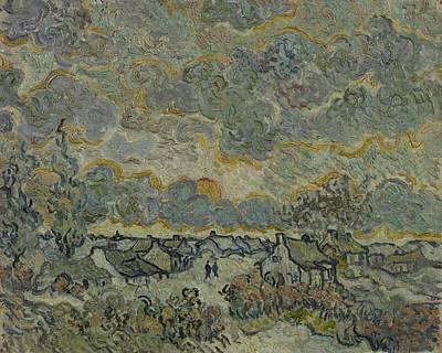 Painting - Reminiscence Of Brabant Saint Remy De Provence March - April 1890 Vincent Van Gogh 1853  1890 by Artistic Panda