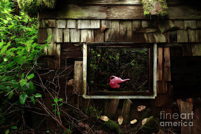 Antique Look Photograph - Reminiscence Of Childhood by Masako Metz