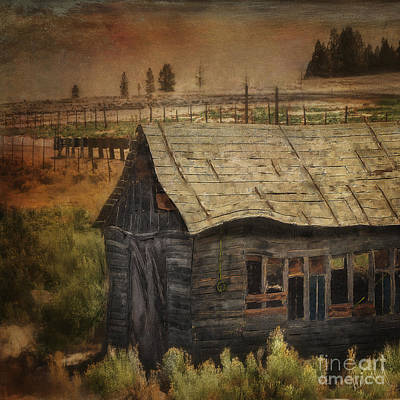 Shed Digital Art - Reminiscent by Linda King
