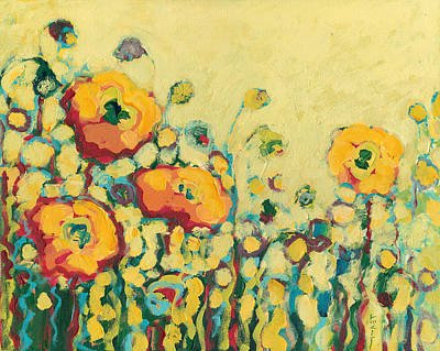 Orange Poppy Painting - Reminiscing On A Summer Day by Jennifer Lommers