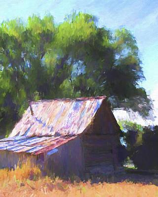 Ranch Digital Art - Remnant by David King