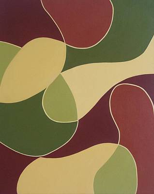 Remnants Of A Fruit Basket Art Print by Sandy Bostelman