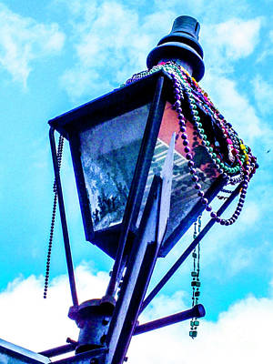 Photograph - Remnants Of Mardi Gras by Frances Ann Hattier