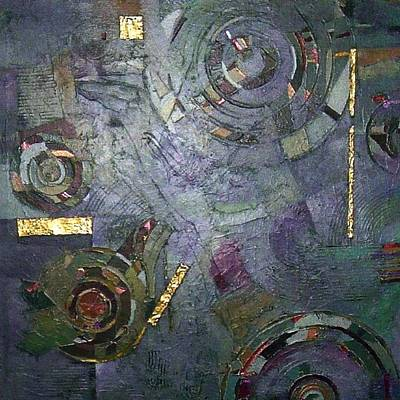 Art Print featuring the painting Remnants Of Time by Bernard Goodman