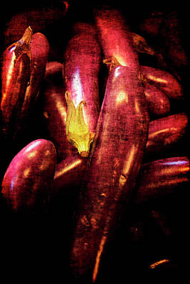 Photograph - Renaissance Chinese Eggplant by Jennifer Wright