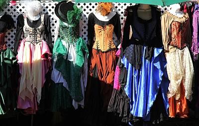 Renaissance Dresses Art Print