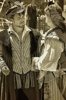Renaissance Fairs Photograph - Renaissance Men by Camille Lopez