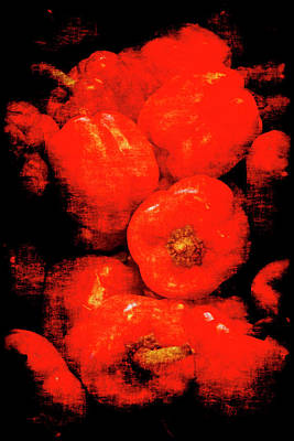 Renaissance Red Peppers Art Print