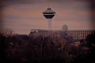 Photograph - Renaissance Tower Florence Alabama by Lesa Fine