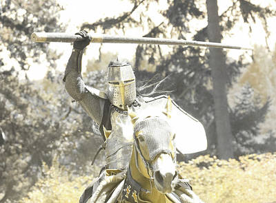 Photograph - Renaissance Warrior  by Steve McKinzie