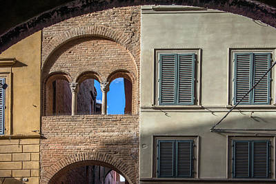 Photograph - Renaissance Windows And Walls  by Radoslav Nedelchev