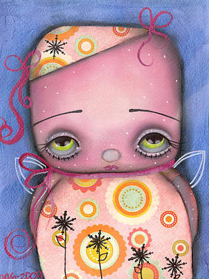 Renata Fairy Art Print by  Abril Andrade Griffith