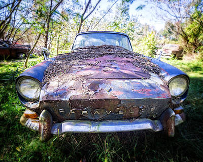 Photograph - Renault Caravelle by Alan Raasch