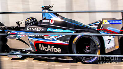 Photograph - Renault Formula E Racing 7 by Rene Triay Photography