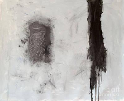 Mixed Media - Rencontre Avec L'infini by Diane Desrochers