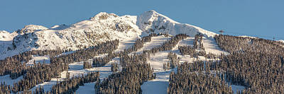 Photograph - Rendez-vous On Blackcomb by Pierre Leclerc Photography