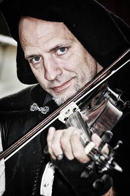 Photograph - Renaissance Fiddler by Mike Martin