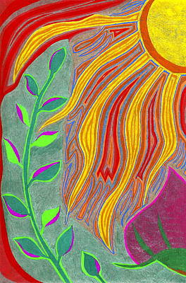 Renewal And Growth Art Print by Michelle Meaney