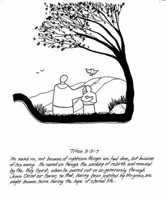 Devotional Drawing - Renewal by Rich Brumfield