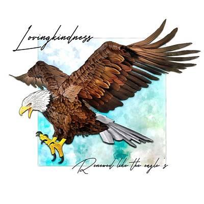 Renewed Like The Eagle's Art Print
