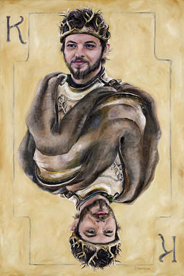 Painting - Renly Baratheon by Denise H Cooperman