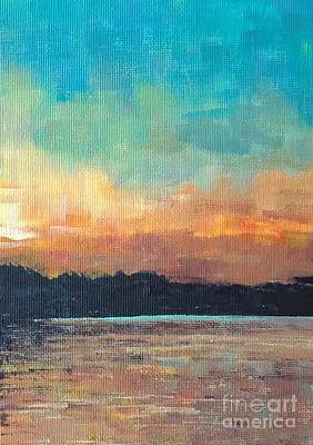 Painting - Rennie Lake, Michigan by Lisa Dionne