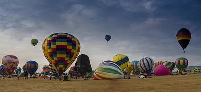 Reno Balloon Race 2015 Art Print by Rick Mosher