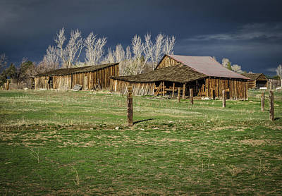 Photograph - Reno Barn by Rick Mosher