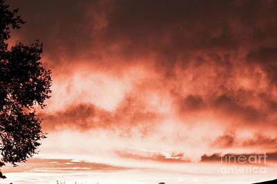 Photograph - Reno Sky by Serena Ballard