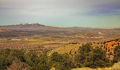 Photograph - Reno  Valley by Nancy Marie Ricketts