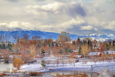 Photograph - Reno View From The Park by Donna Kennedy