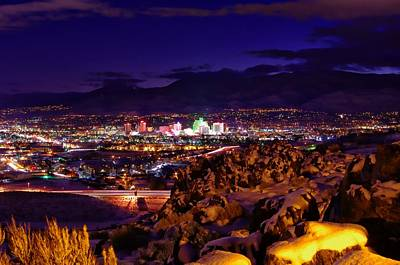 Reno Winter  Art Print by Scott McGuire