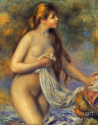 Photograph - Renoir: Bather by Granger