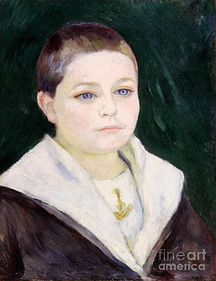 Photograph - Renoir: Boy, C1884 by Granger