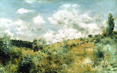Impressionist Photograph - Renoir: Coup De Vent by Granger
