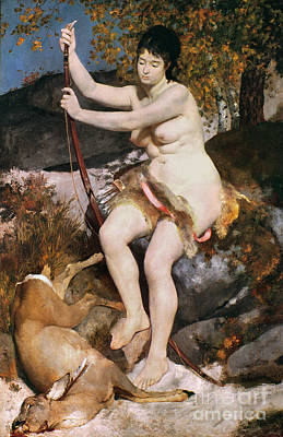 Huntress Photograph - Renoir: Diana by Granger