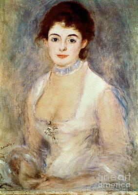 Renoir: Madame Henriot Art Print by Granger