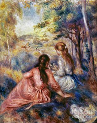 Impressionist Photograph - Renoir: Meadow, C1890 by Granger