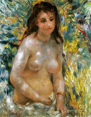 Renoir: Torso, C1876 Art Print by Granger
