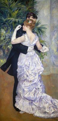 Impressionism Photograph - Renoir: Town Dance, 1883 by Granger