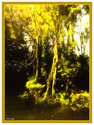 Renoir's Golden Forest Art Print