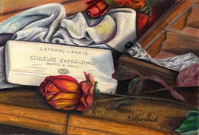 Drawing - Renoir's Studio by Debbie Smith