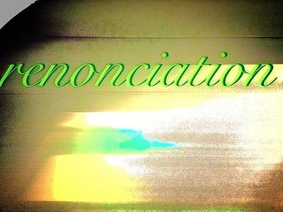 Digital Art - Renonciation Renunciation by Contemporary Luxury Fine Art