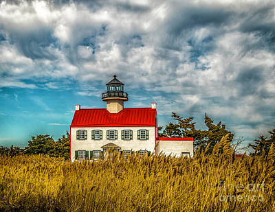 Photograph - Renovated East Point Lighthouse by Nick Zelinsky