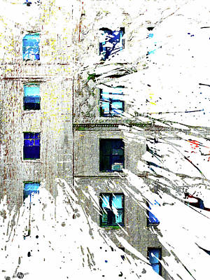 Mixed Media - Rent by Tony Rubino