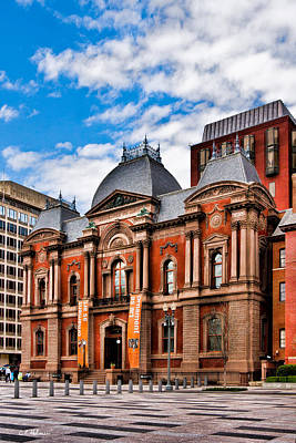 Photograph - Renwick Gallery by Christopher Holmes