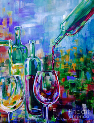 Painting - Renzoni Wine by Lisa Owen-Lynch