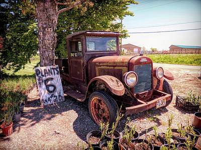 Photograph - Reo Speed Wagon Plant Sale by Leslie Montgomery