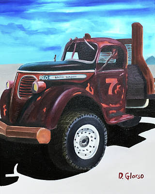 Painting - Reo Speedwagon by Dean Glorso